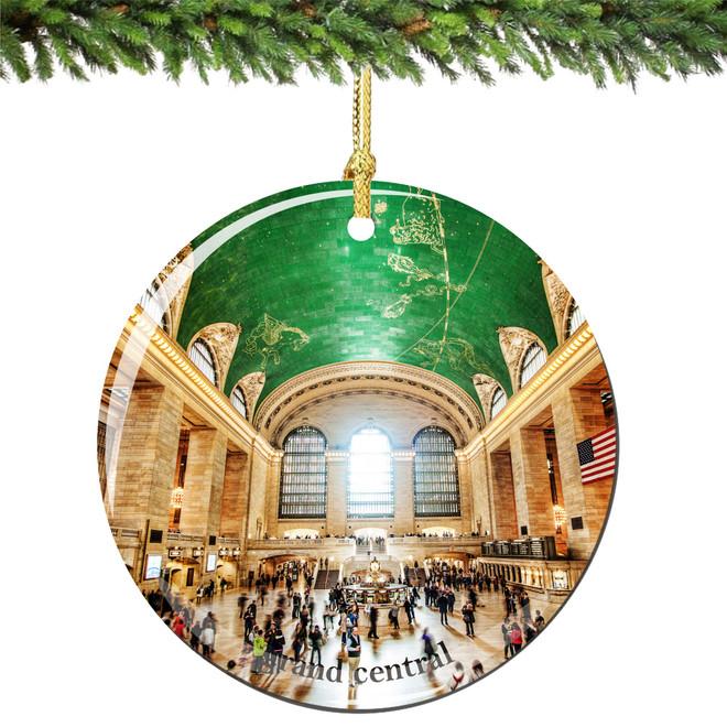 Grand Central Christmas Ornament
