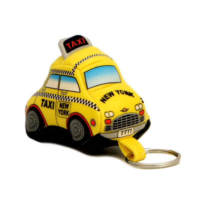 NYC Taxi Keychain Lucite