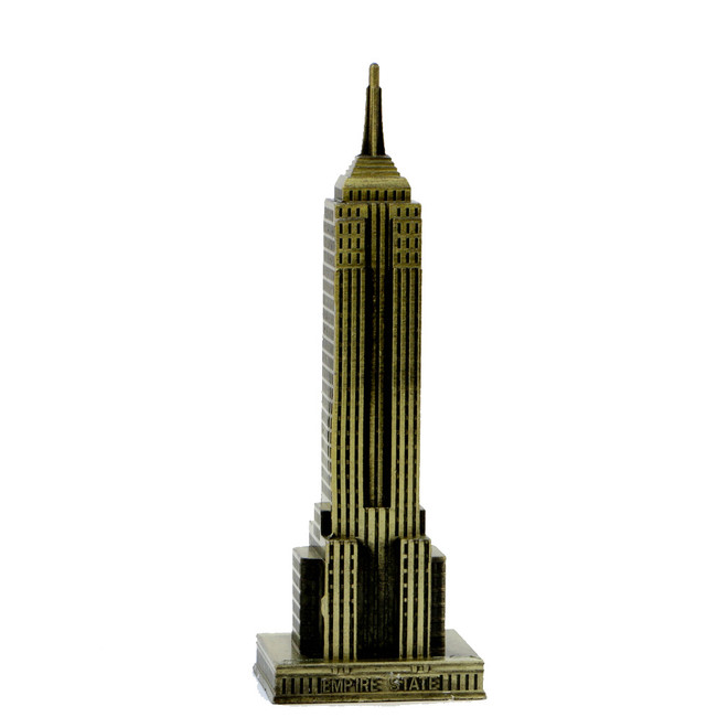 Bronze 7 Inch Empire State Building Statue