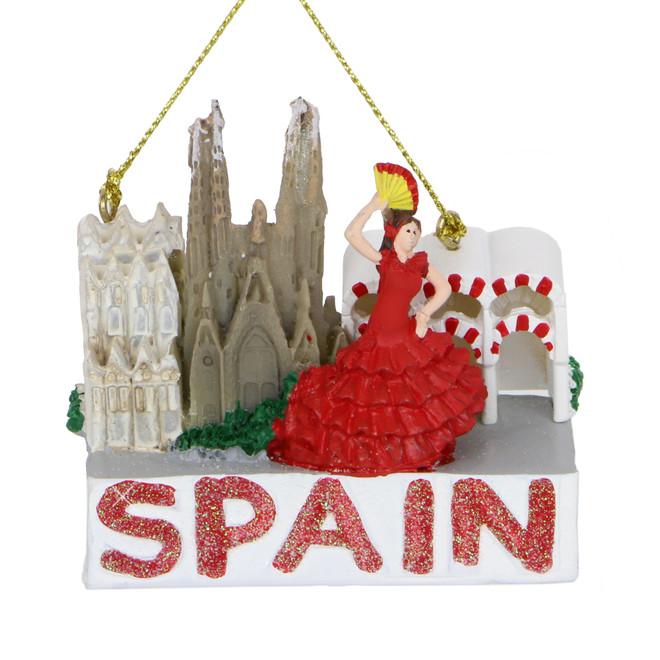 Spain Christmas Ornament