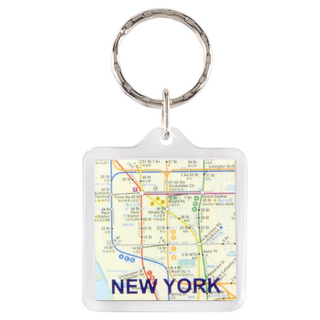 NYC Subway Key Chain