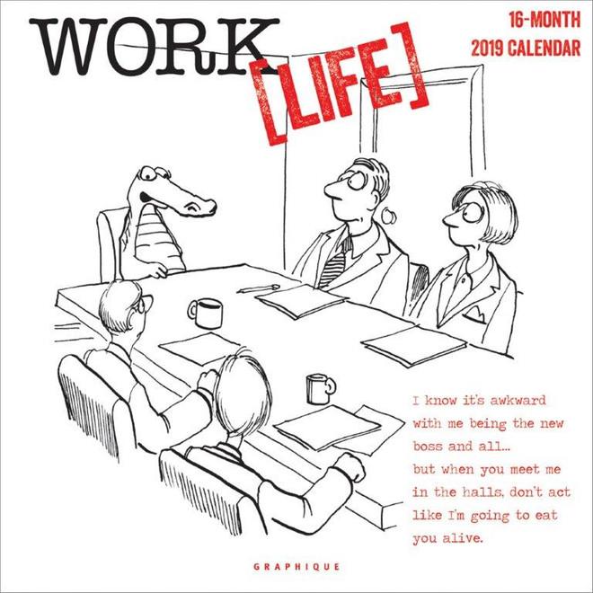 Work Life Calendar, Wall Calendar