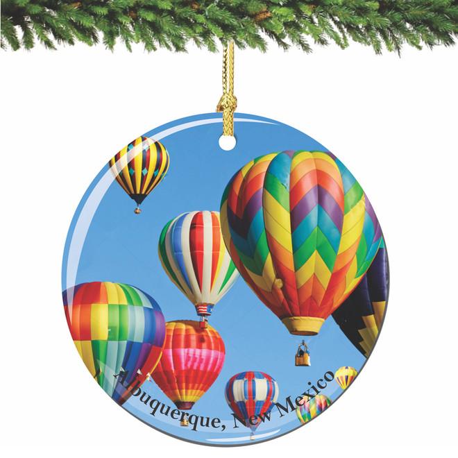 Albuquerque Christmas Ornament from New Mexico