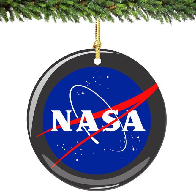 Company Logo Christmas Ornaments: NASA Christmas Ornament Porcelain