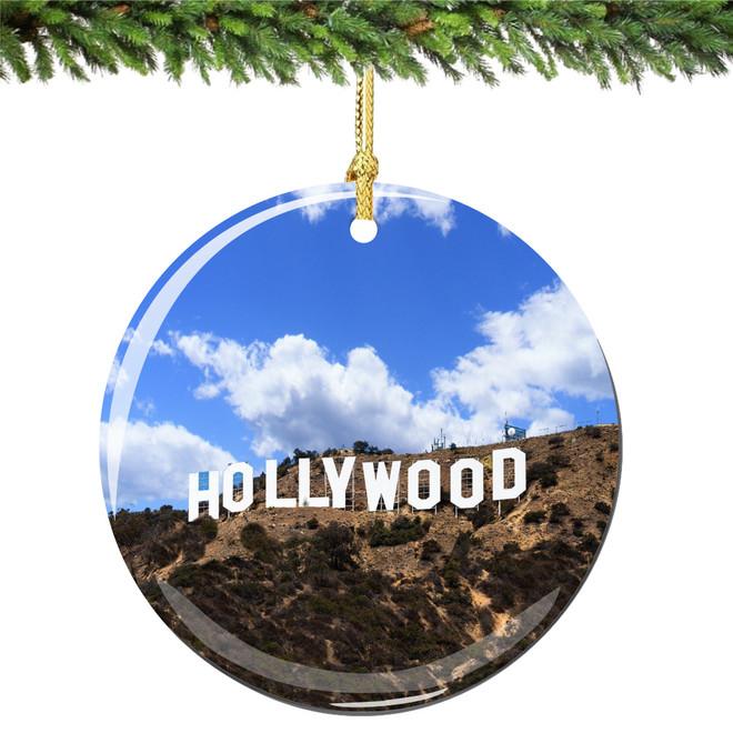 Hollywood Christmas Ornament
