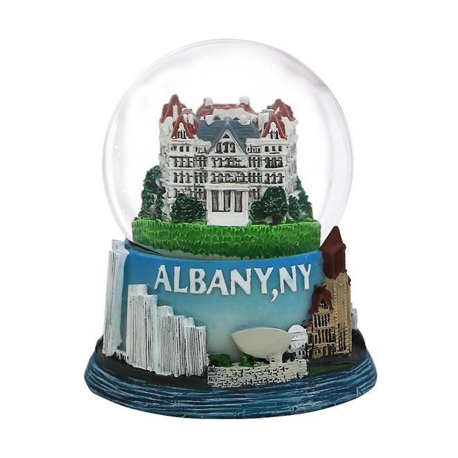 65mm Albany, New York Snow Globe