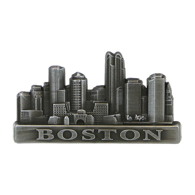 Metal Boston Magnet