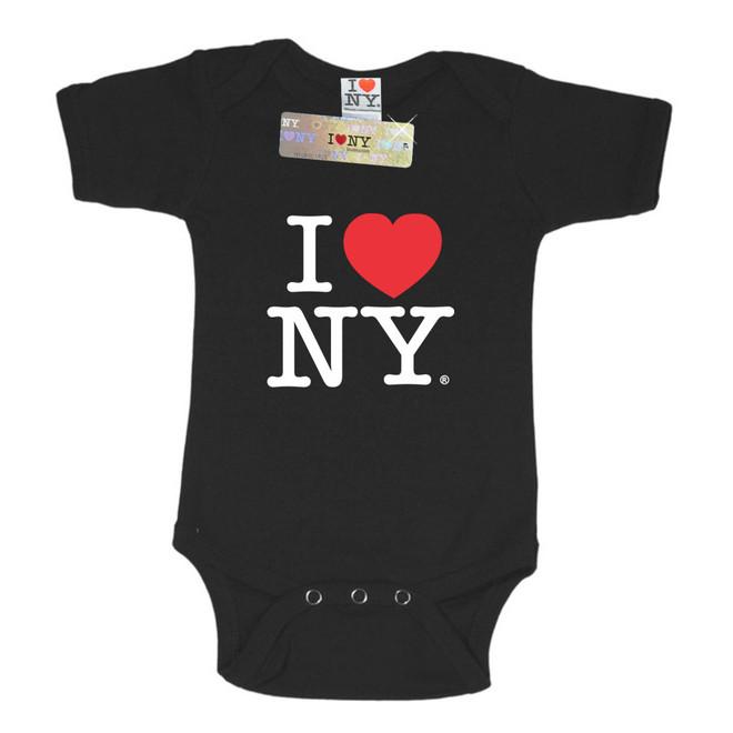 Black I Love NY Romper