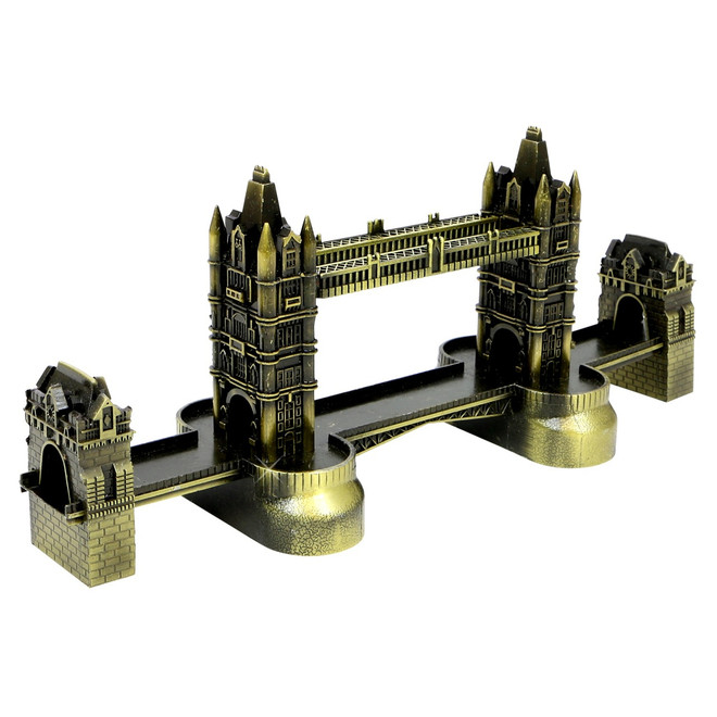 London Tower Bridge Bronze Replica 9 Inches