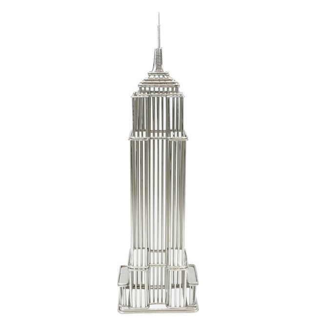 Empire State Building Wire Model 12 Inches