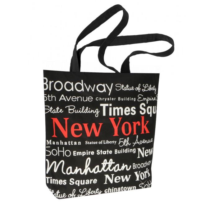 Black and White New York City Tote Bag