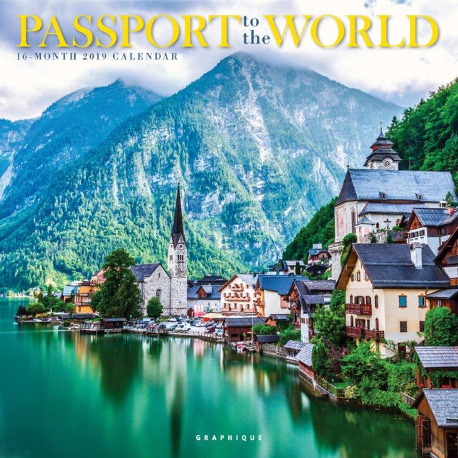 Passport to the World Calendar, Wall Calendar