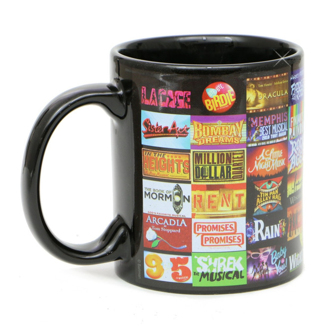 Broadway Shows Mug Souvenir