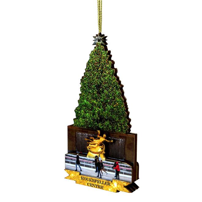 3D Rockefeller Center Ornament