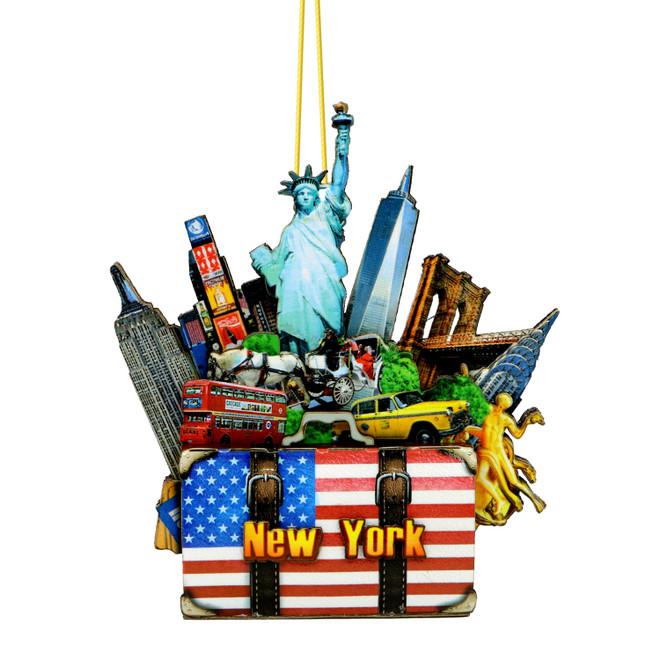 New York City Ornament 3D NYC Landmarks