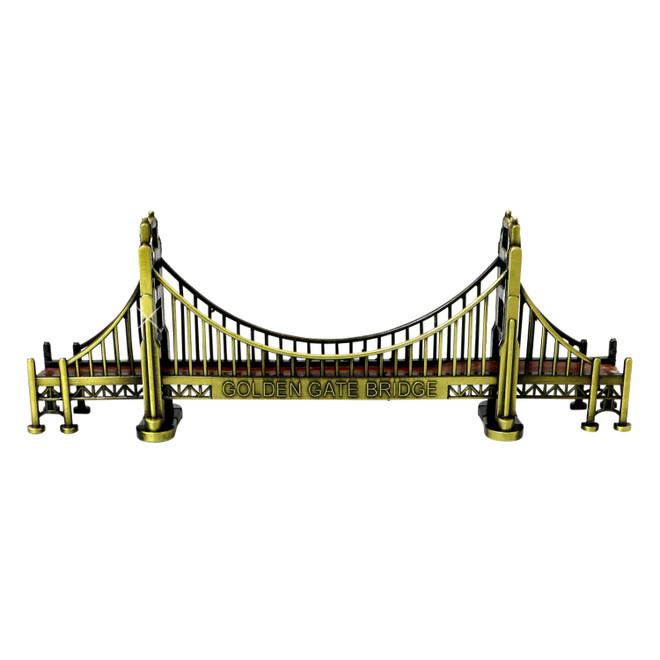 Golden Gate Bridge Bronze Statue 7 Inches
