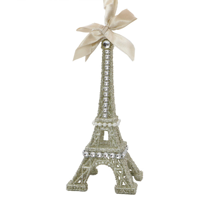 Vintage Glamour Eiffel Tower Ornament