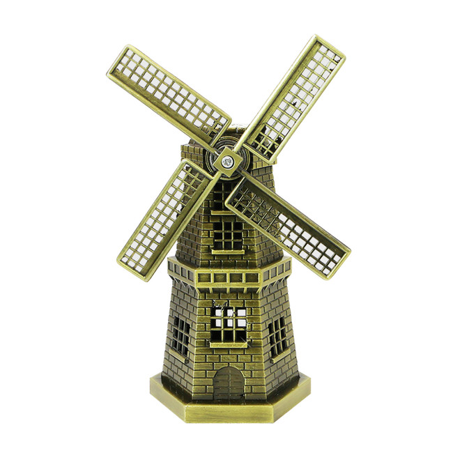 "5"" Bronze Windmill Statue"