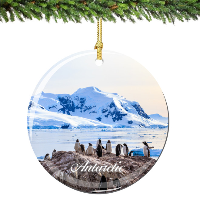 Antarctic Christmas Ornament