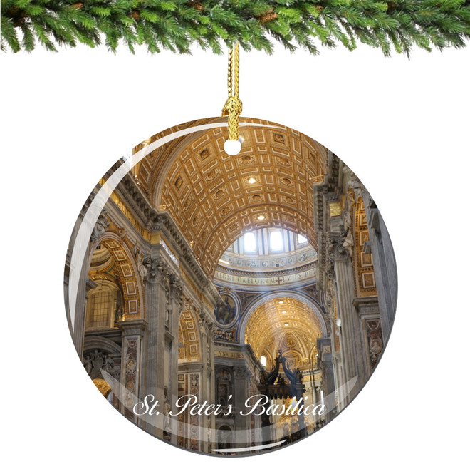 St. Peter's Basilica Christmas Ornament