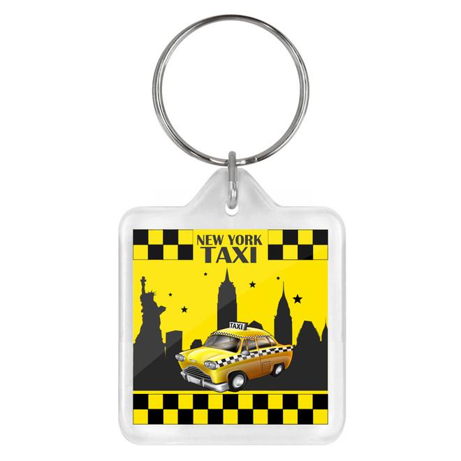 NYC Taxi Keychain