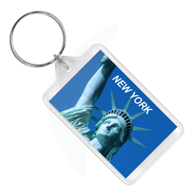 Statue of Liberty Keychain