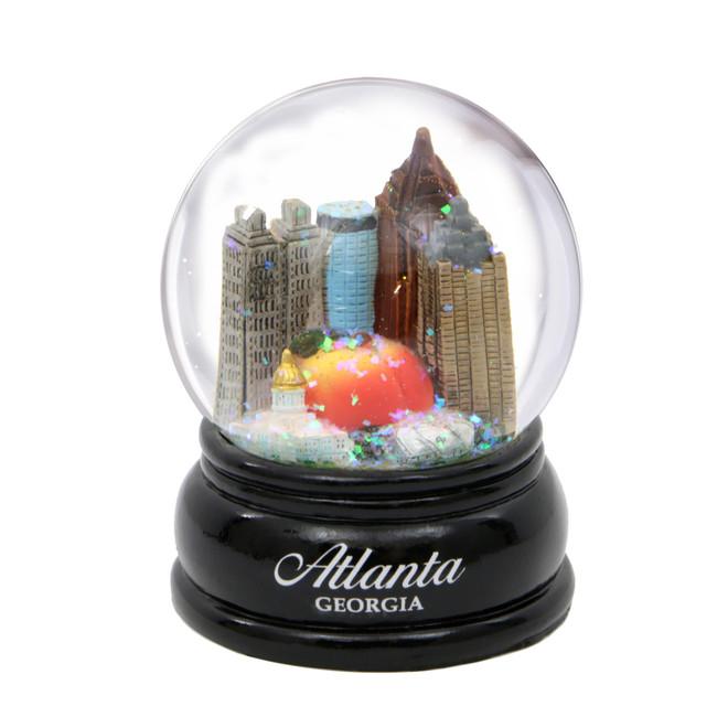 Atlanta Snow Globe
