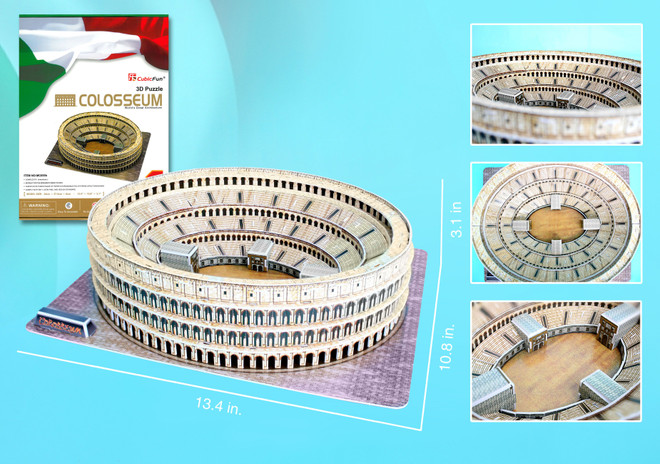 Colosseum Puzzle of Rome Italy