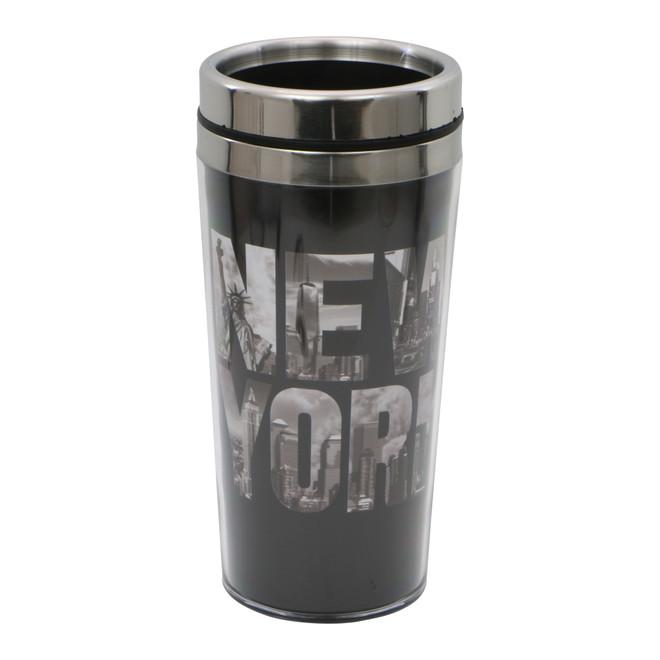 New York City Travel Mug Skyline