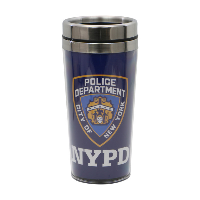 NYPD Travel Mug with Shield