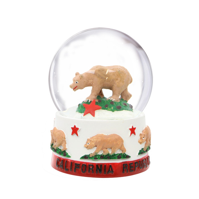 California Snow Globe