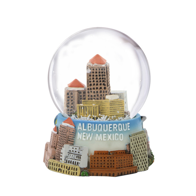 Albuquerque Snow Globe