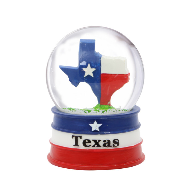 Texas Snow Globe
