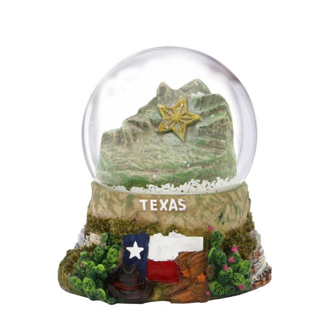 El Paso Texas Snow Globe