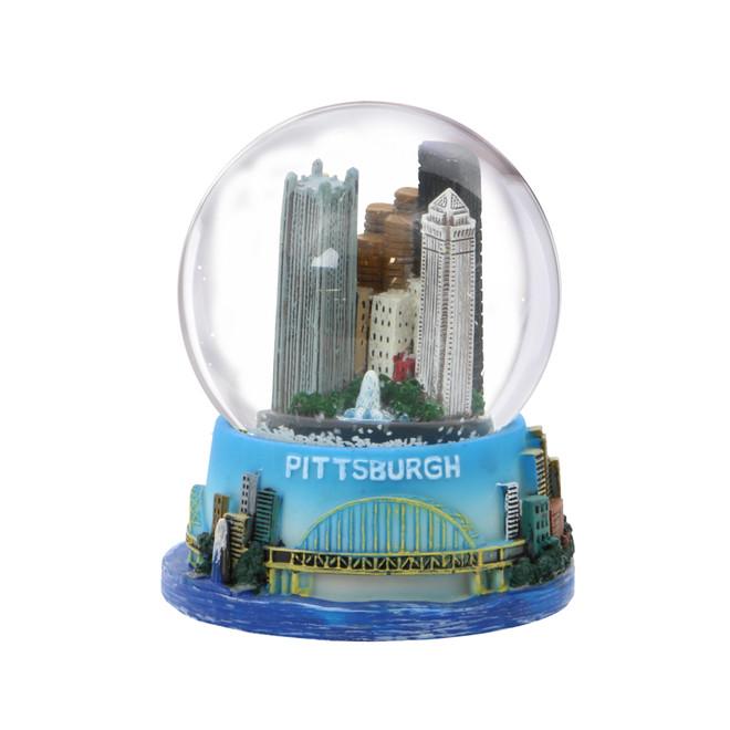 Pittsburgh Snow Globe