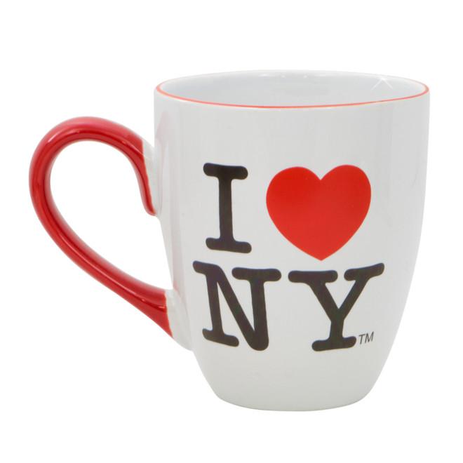 I Love NY Mug Large Belly Mug