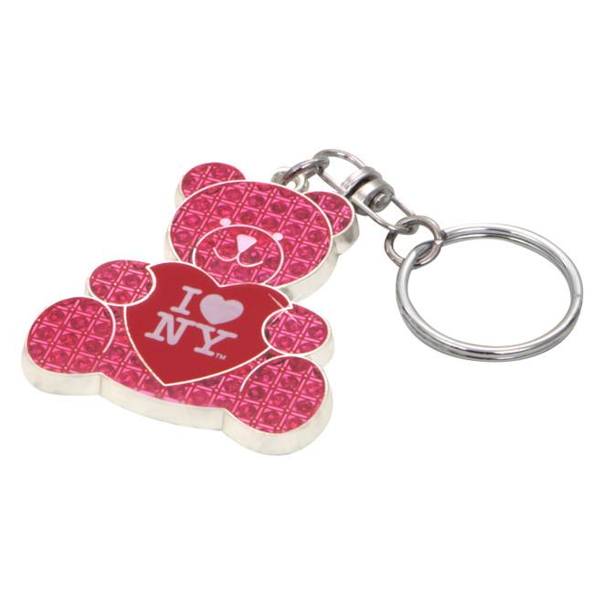 I Love NY Key Chain Pink