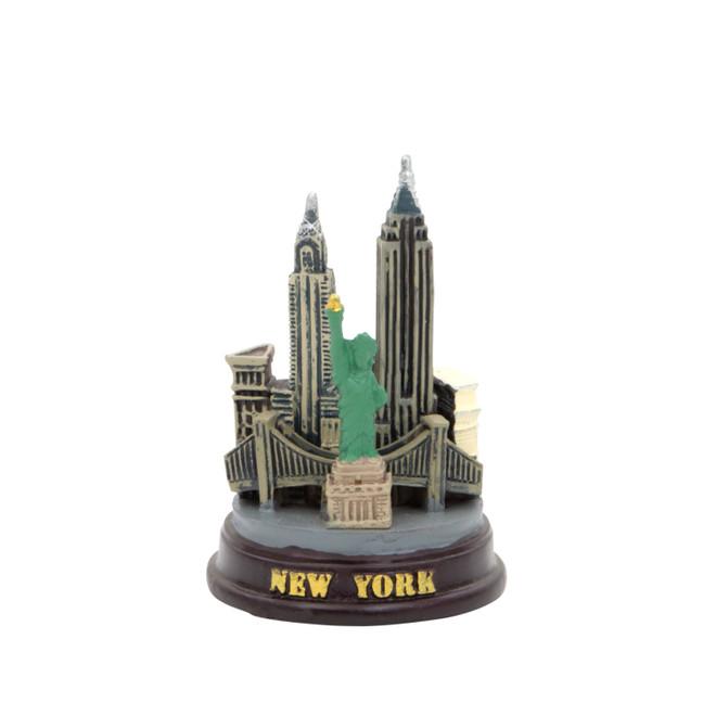 Mini NYC Skyline Model
