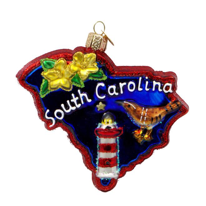 South Carolina Christmas Ornament