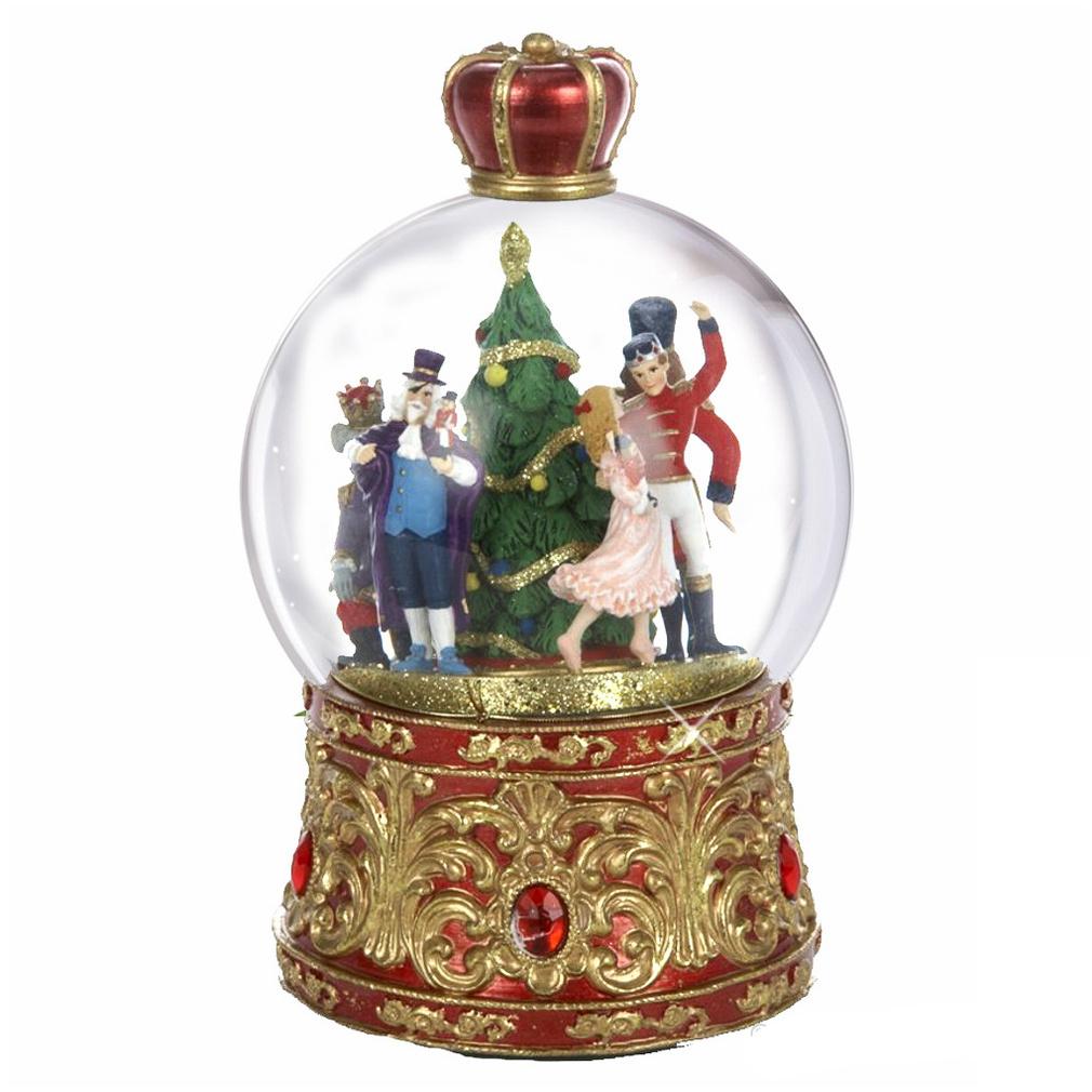 CitySouvenirs.com Nutcracker Suite Musical Snow Globe