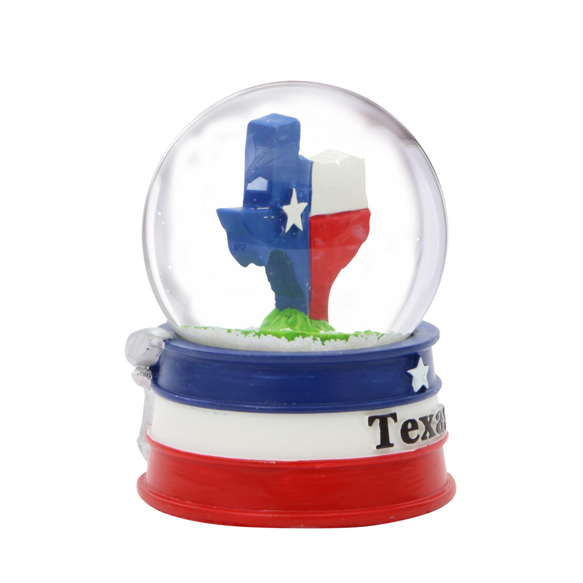 Dallas Texas Snow Globe 3.5 Inches Tall