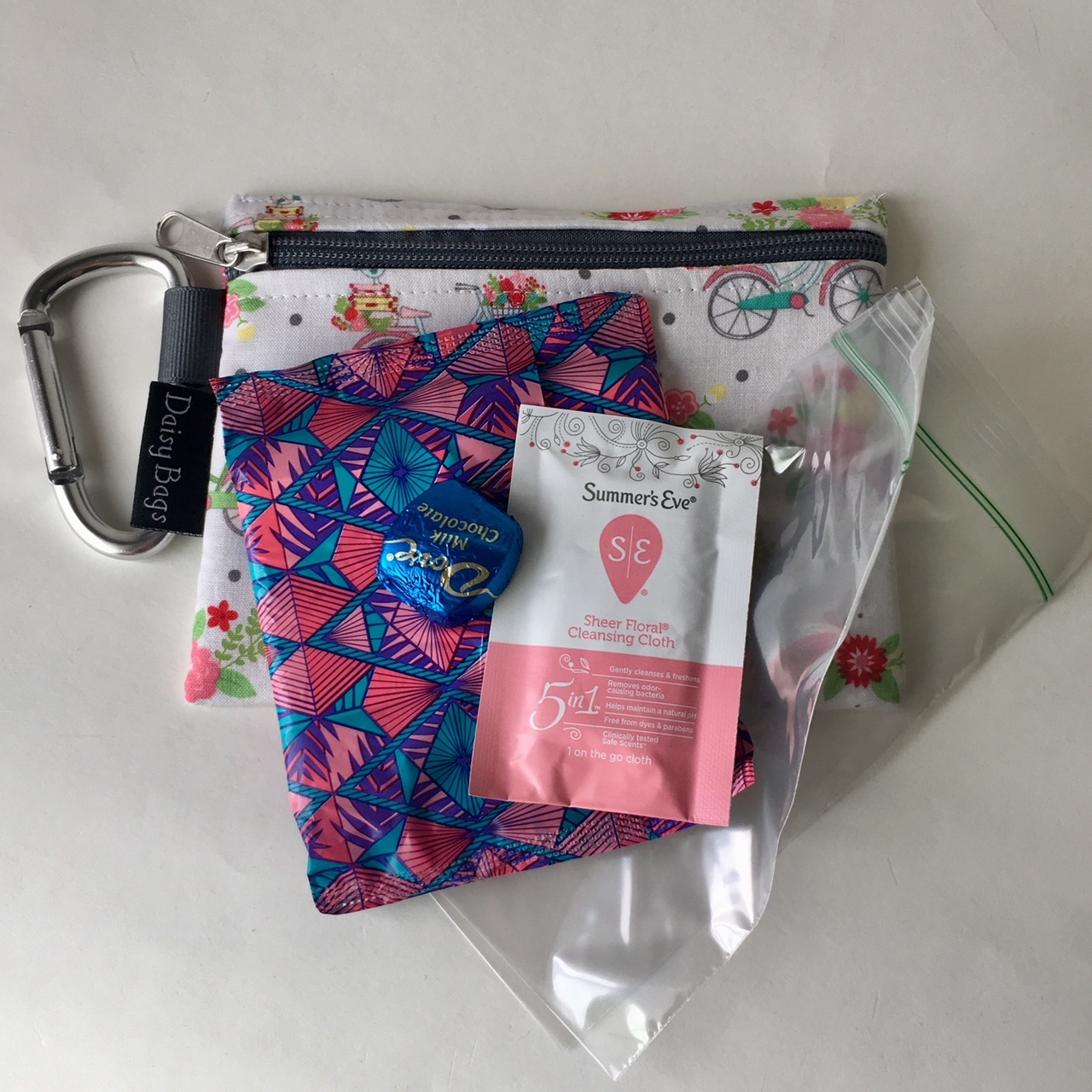 On the Go Travel Period Pouch-from your first to your last