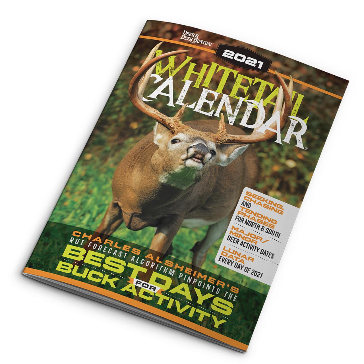 Deer Activity Calendar 2021 Images