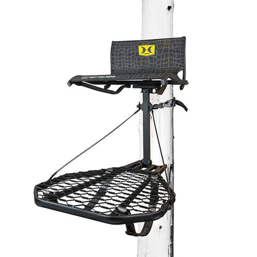 Hawk Cruzr Hang-on Treestand Deer and Deer Hunting