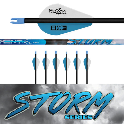 Element Archery Storm Series Arrows 6 Fletched Deer and Deer Hunting