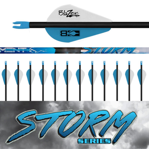 Element Archery Storm Series Arrows 12 Fletched Deer and Deer Hunting