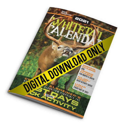2021 Whitetail Calendar Deer and Deer Hunting Digital Download