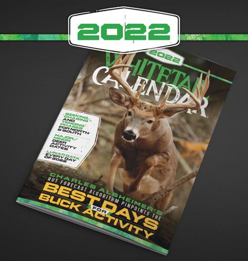 2022 Deer and Deer Hunting Whitetail Calendar
