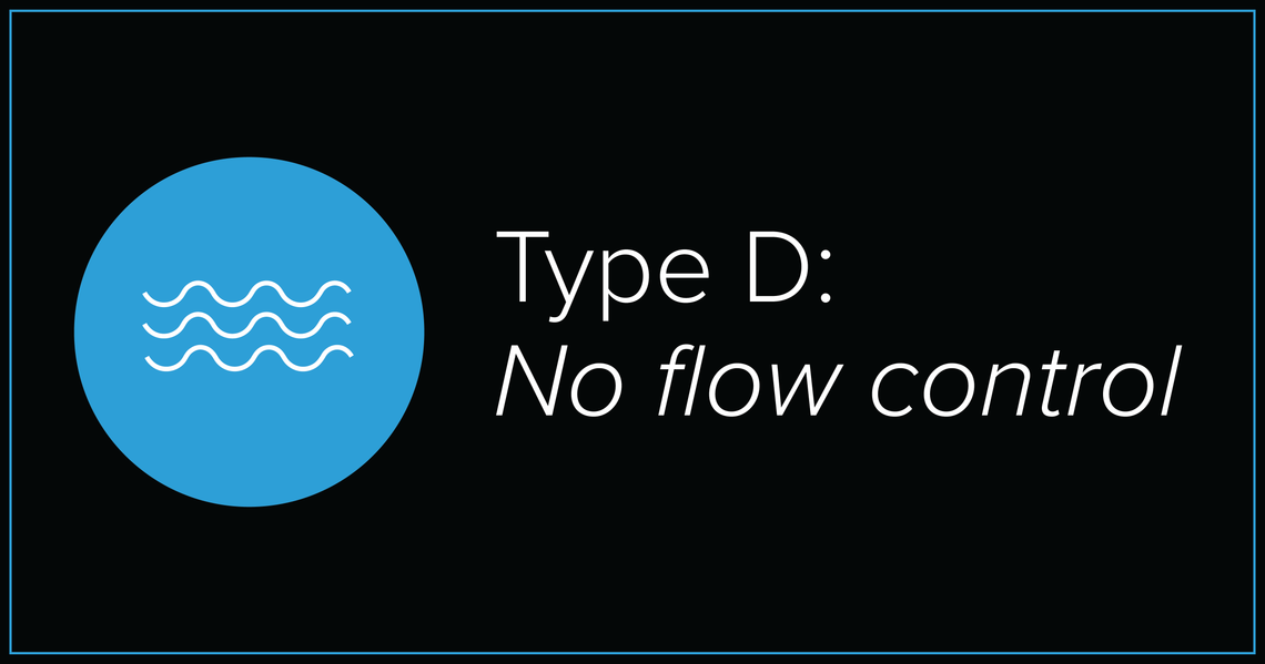 Pioneers of No Flow Control