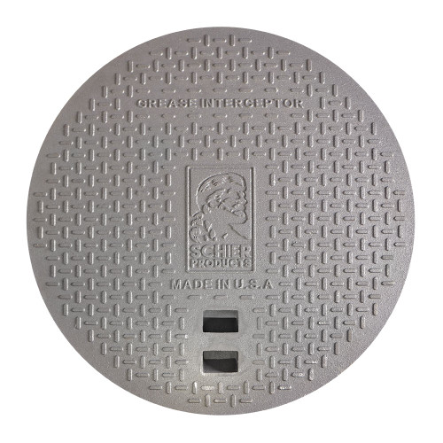 C24H2 cast iron cover for grease and solids interceptors